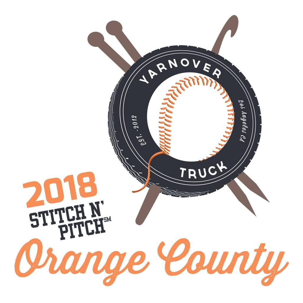 Yarnover Truck 2018 Stitch 'N Pitch Ticket - Angels