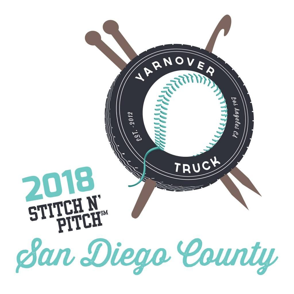 Yarnover Truck 2018 Stitch 'N Pitch Ticket - Padres