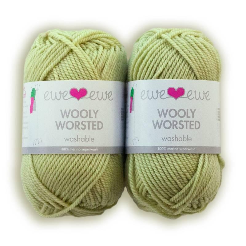 Ewe Ewe Ewe Ewe Wooly Worsted Soft Sage