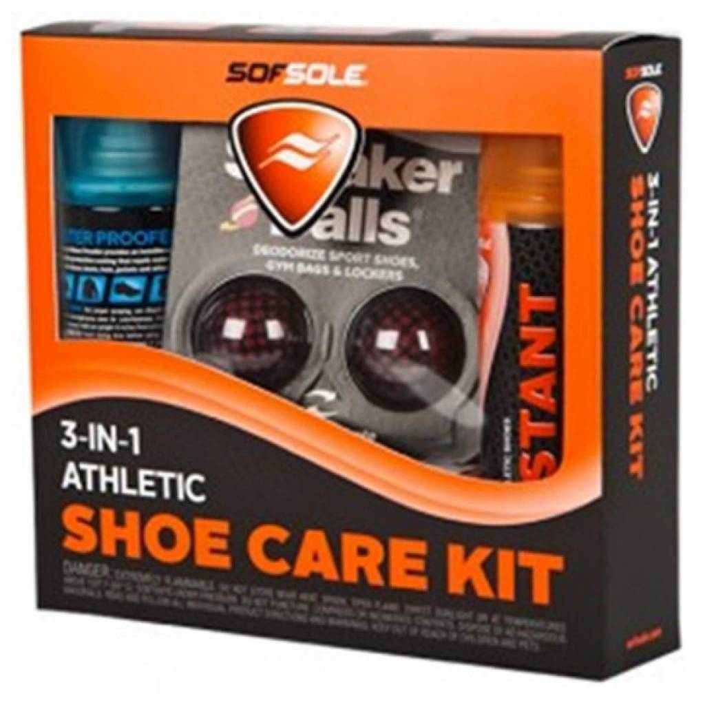 3-in-1 Athletic Shoe Care Kit