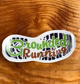 Grounded Running Sticker