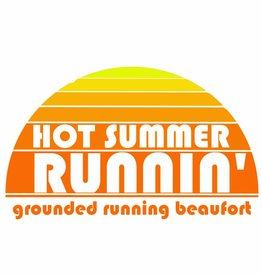 Grounded Running Hot Summer Runnin T-Shirt