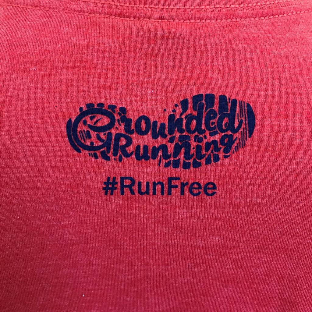 Grounded Running Run Free July Shirt