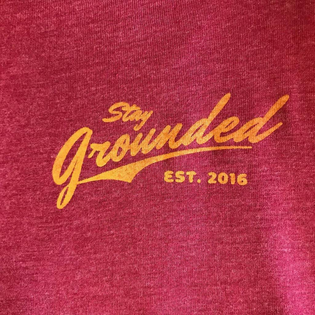 Grounded Running Crafted Grounded Running t Shirt