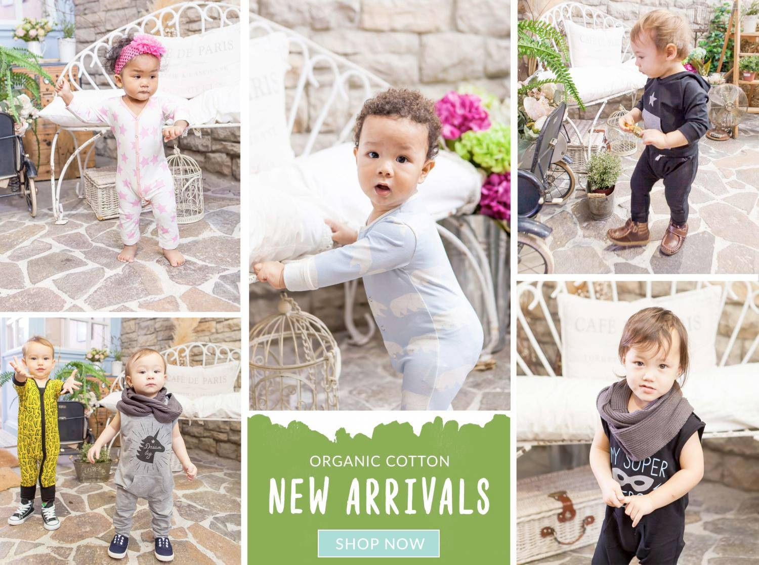 New Baby Clothing - Organic Cotton