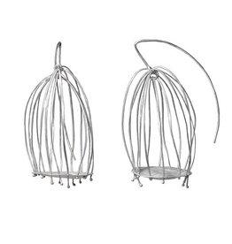 Biba Schutz Biba Schutz Bird Cage Hook Earrings