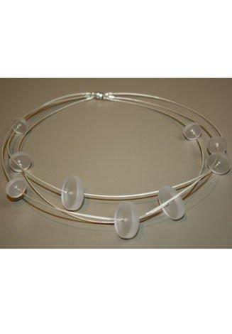 January Glass Necklace