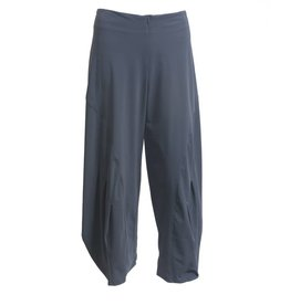 Porto Porto Belden Side Pleat Pants - Slate