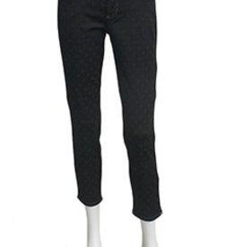 Cambio Cambio Piper Short Black Dot Jeans