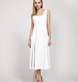 Deca Deca Houette Dress - White