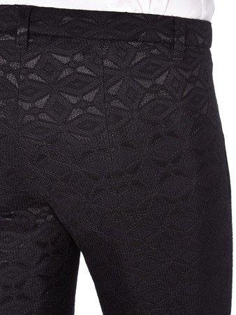Cambio Cambio Loretta Black Geoprint Lace Pants - Black