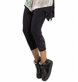 MC Planet MC PLanet Cutout Leggings - Black