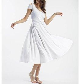 Deca Deca Janka Dress - Blanc