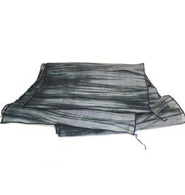 Amy Nguyen Stitched Waterfall Scarf - B/W