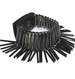 Michelle Lowe-Holder Michelle Lowe-Holder Pompom Cuff