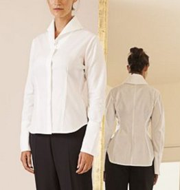 Matthildur Matthildur Asymmetric Hidden Button Shirt - White