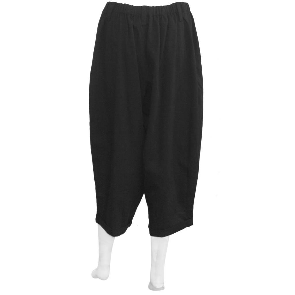 Moyuru Basic Pants - Black