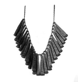 Beyond Threads Pinacle Necklace - Pewter