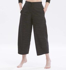 Fat Hat Fat Hat Cropped Gaucho Pants - Black