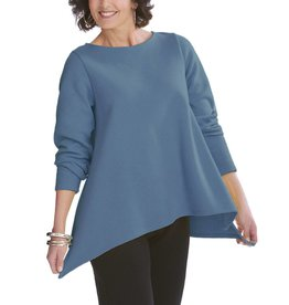 Fat Hat Fat Hat Asymmetric Tee - Deep Ocean