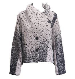 Dress To Kill Dress To Kill Speckle Cross Over Jacket