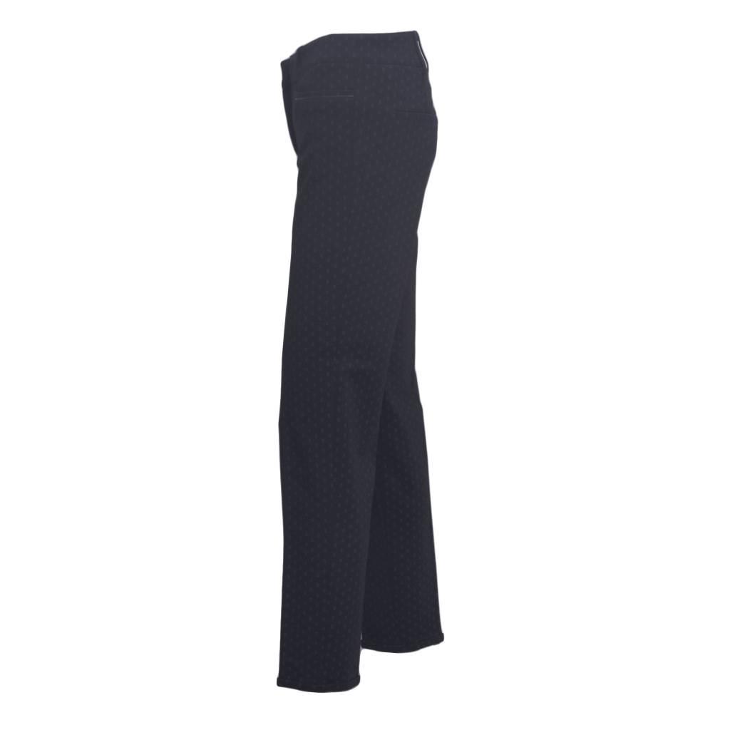 Cambio Cambio Renira Black Print Pants