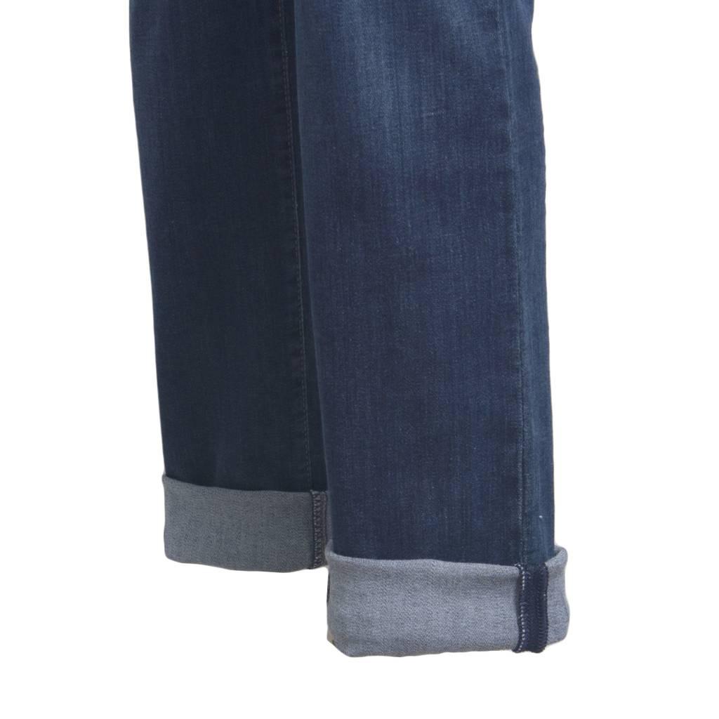 Cambio Cambio Norah Jeans - Dark Denim w/ Black Accent