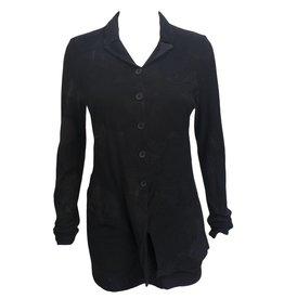 Studio Rundholz Studio Rundholz Asymmetrical Jacket - Black Print
