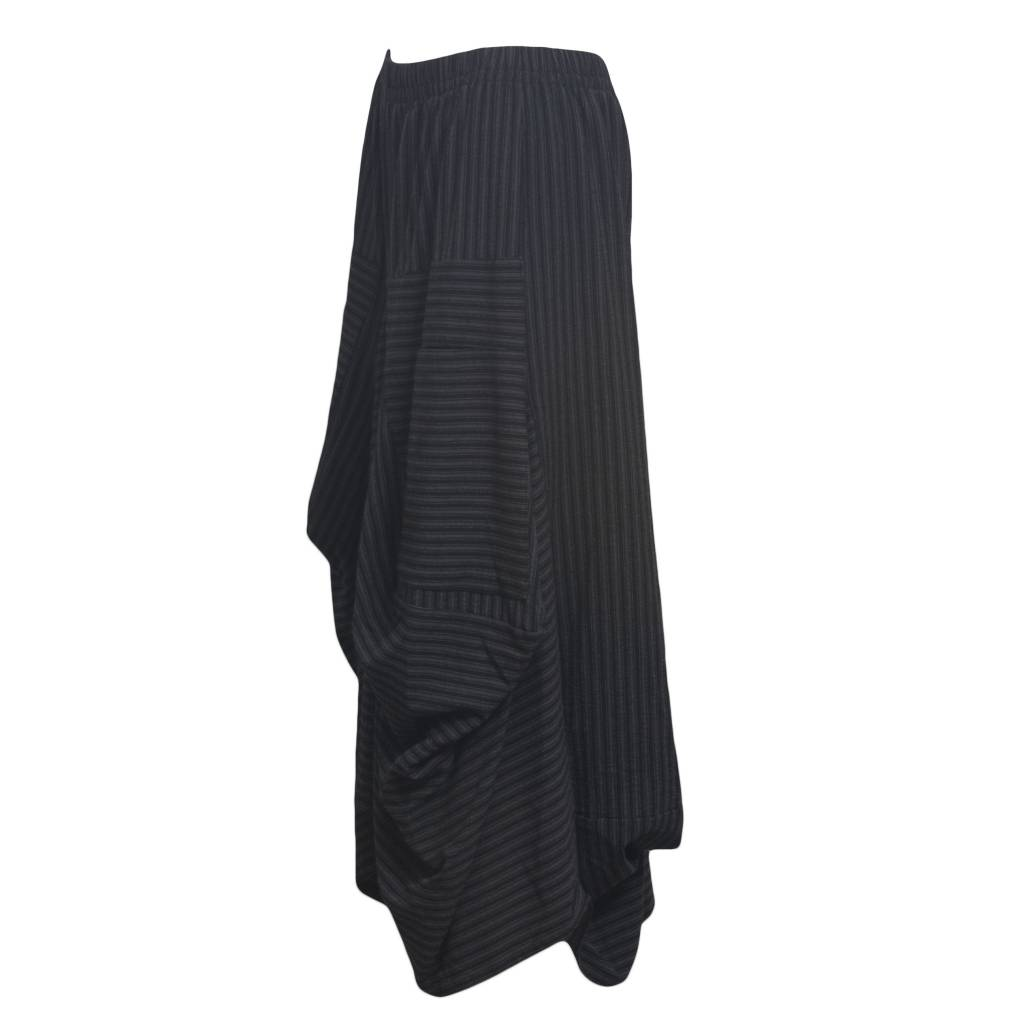Dress To Kill Dress to Kill Menswear Stripe Big Pocket Skirt