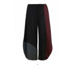 Alembika Alembika Tri-Tone Pants - Wine
