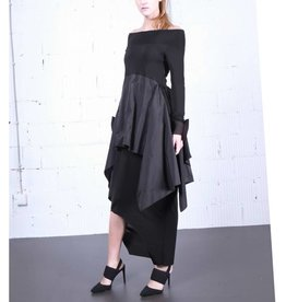 Xenia Xenia Fog Dress - Black