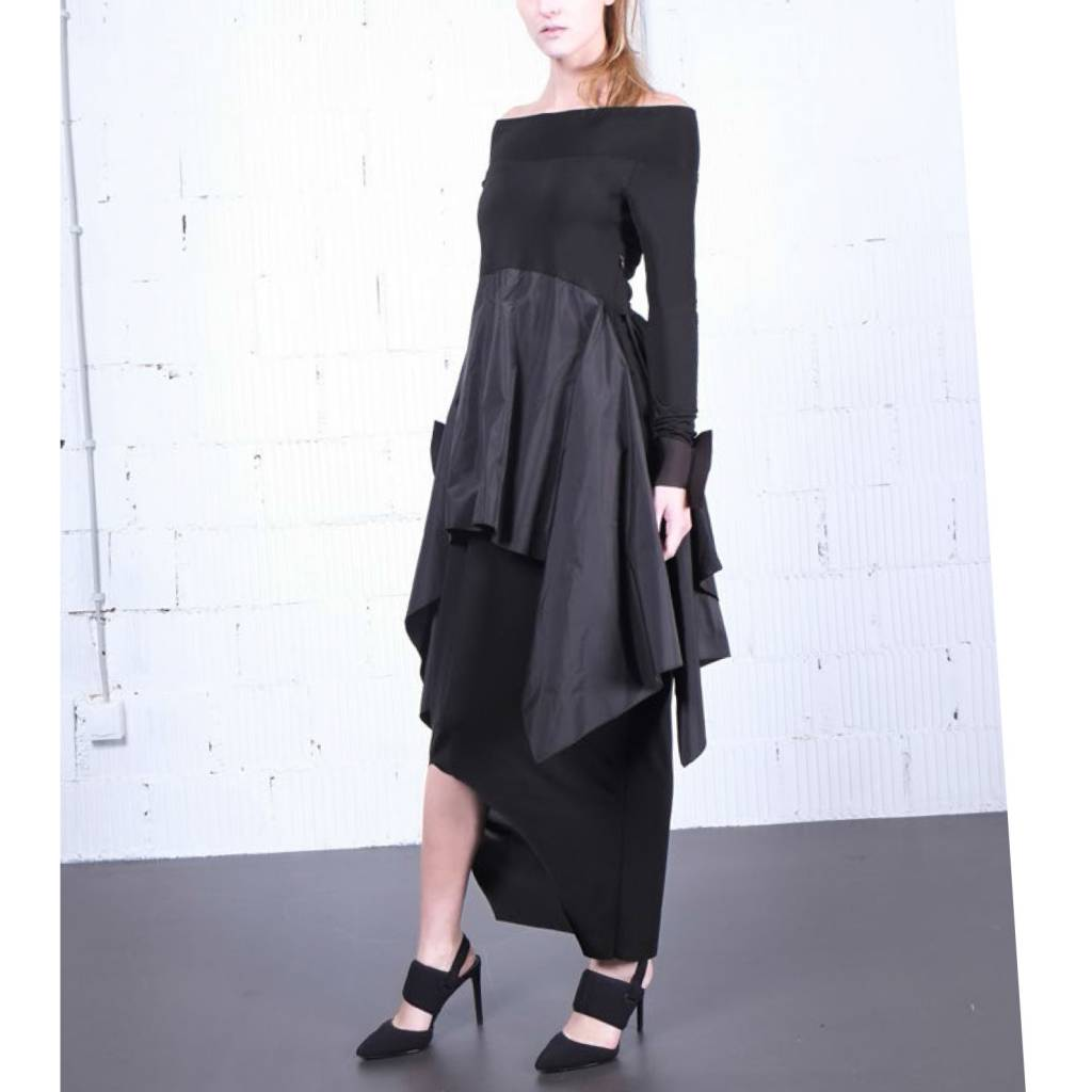 Xenia Xenia Fog Dress - Black
