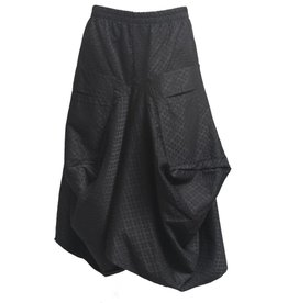 Dress To Kill Dress to Kill Big Pocket Skirt - Black Spade