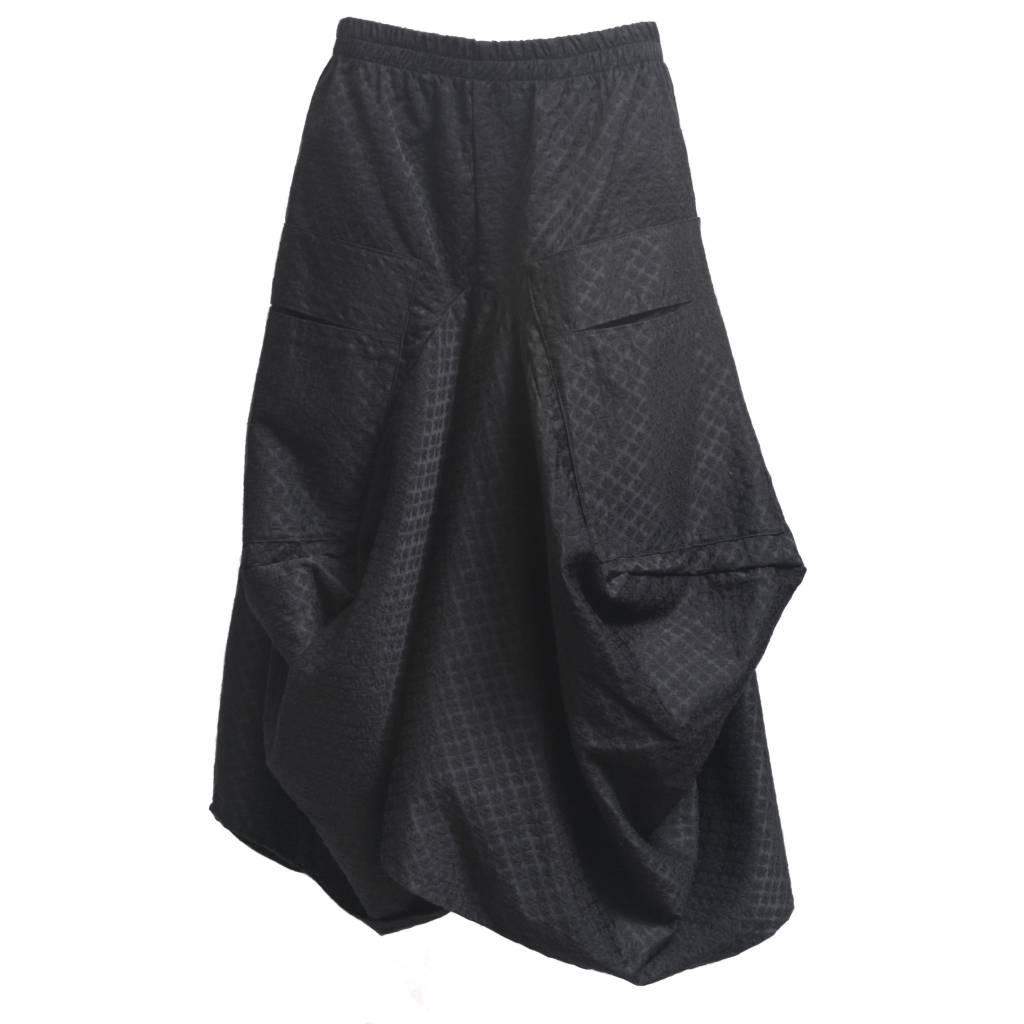 Dress To Kill Dress to Kill Big Pocket Skirt - Black Spade