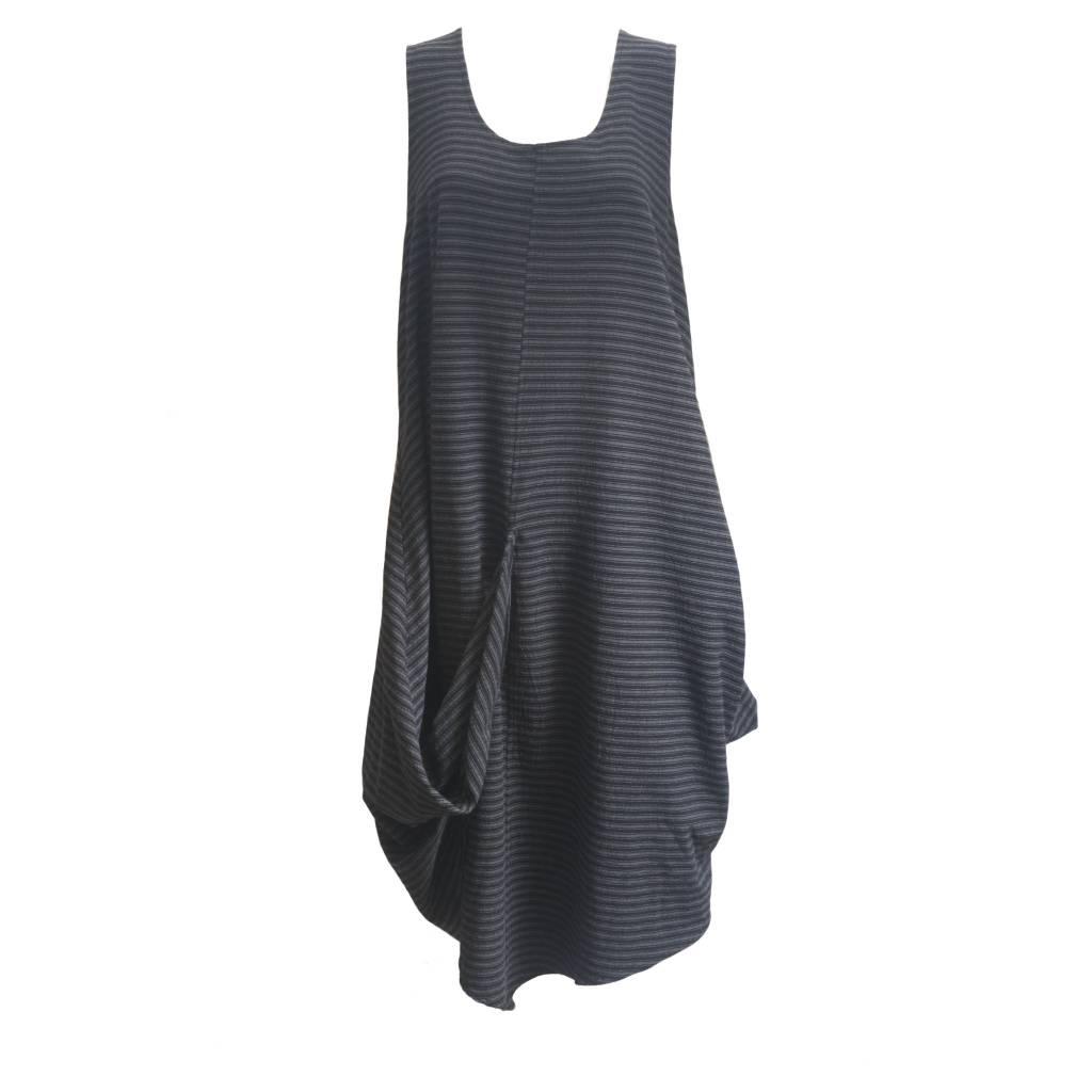 Dress To Kill Dress to Kill Pull Up Dress - Menswear Stripe