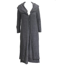 Ingrid Munt Ingrid Munt Long Dress Coat - Charcoal