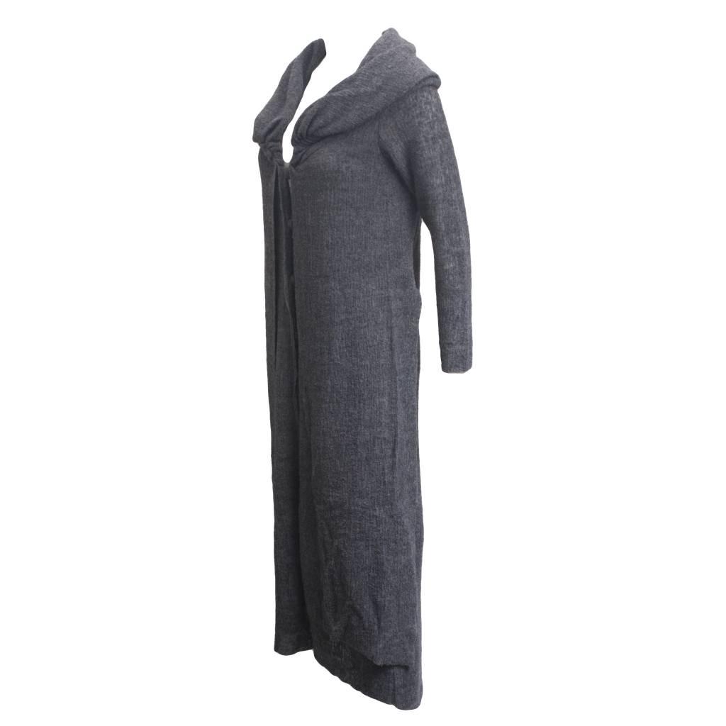 Ingrid Munt Ingrid Munt Long Dress Coat - Charcoal