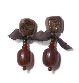 Teresa Goodall Teresa Goodall Rosewood Earrings
