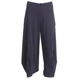 Porto Porto Belden Side Pleat Pants - Eggplant