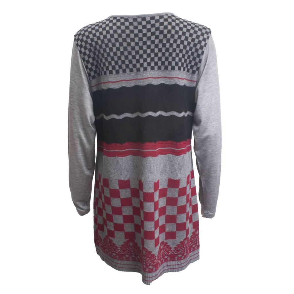 Yoshi Yoshi Yoshi Yoshi Check Pullover