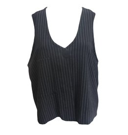 Dress To Kill Dress To Kill Vest - Menswear Stripe