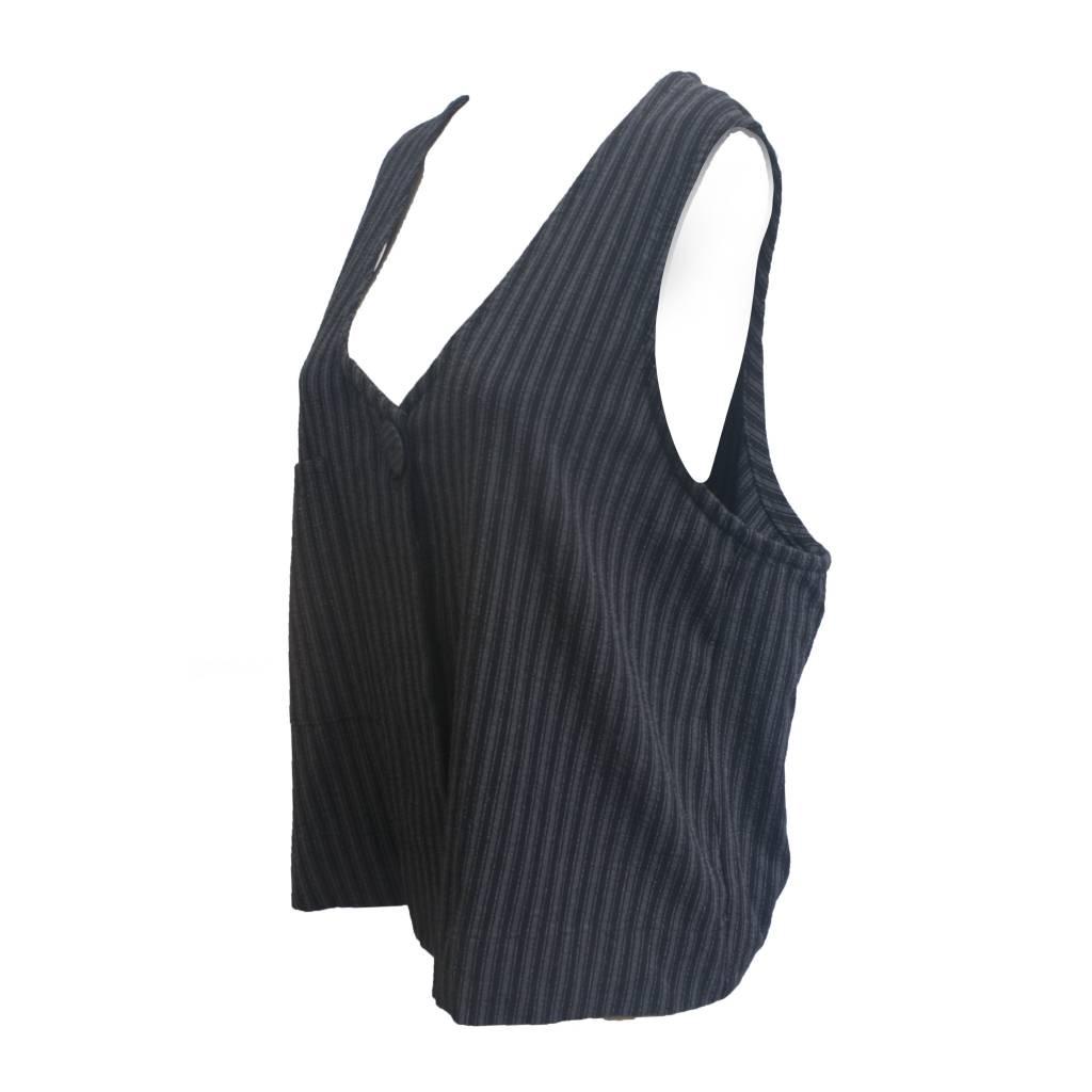 Dress To Kill Dress To Kill Vest - Menswear Stripe