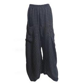 Dress To Kill Dress To Kill Harem Pants  - Suede Rayon Check