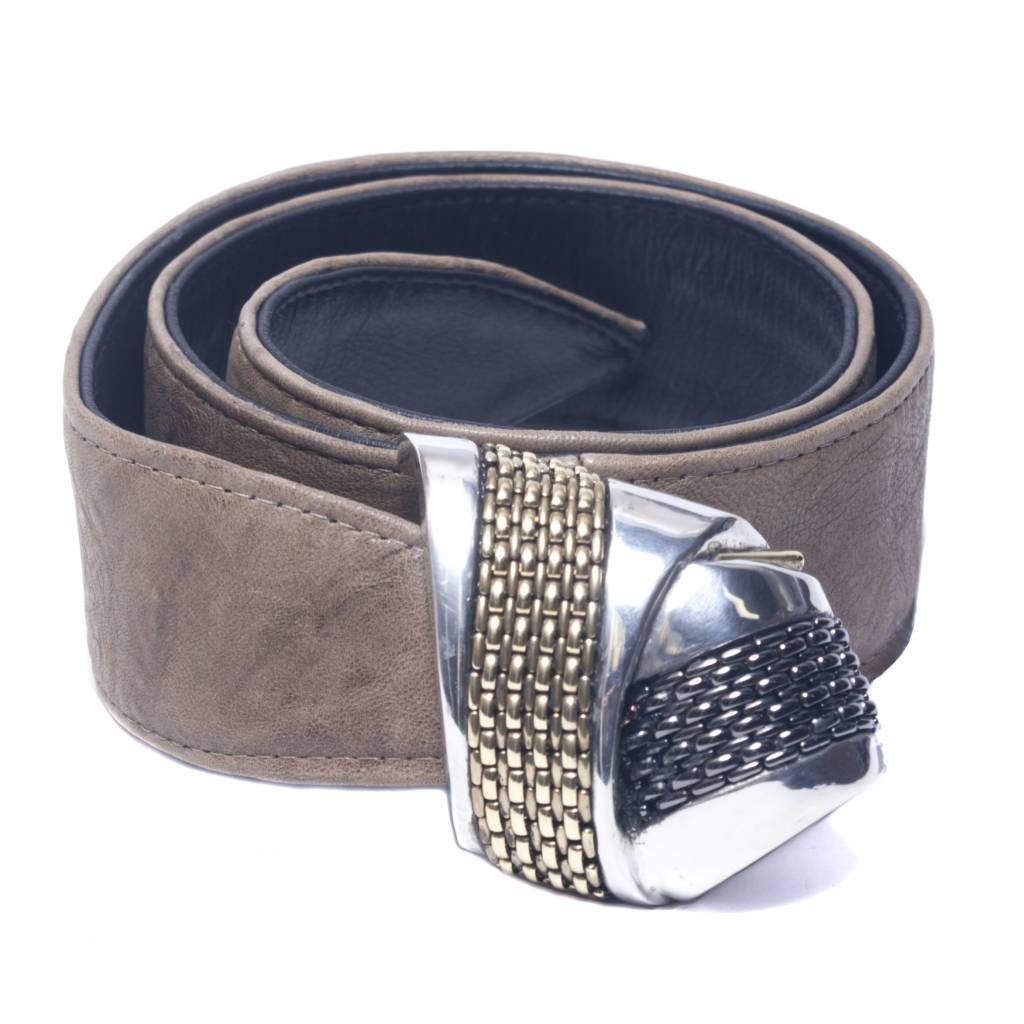 Fahrenheit Fahrenheit Double Pass Leather Belt