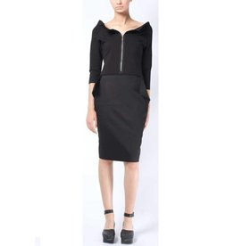 Xenia Xenia Gail Dress - Black