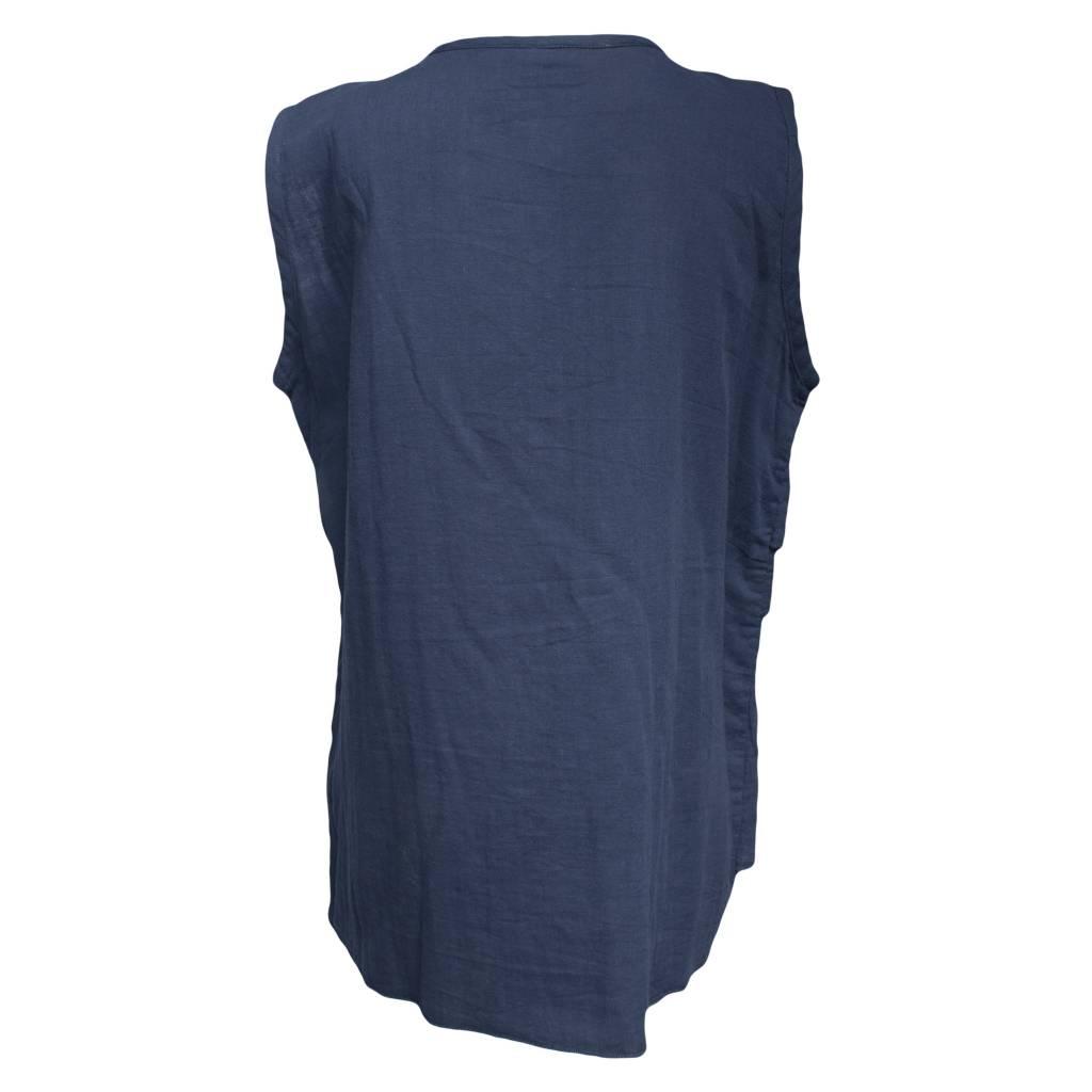 Dress To Kill Dress To Kill Layered Tank - Navy