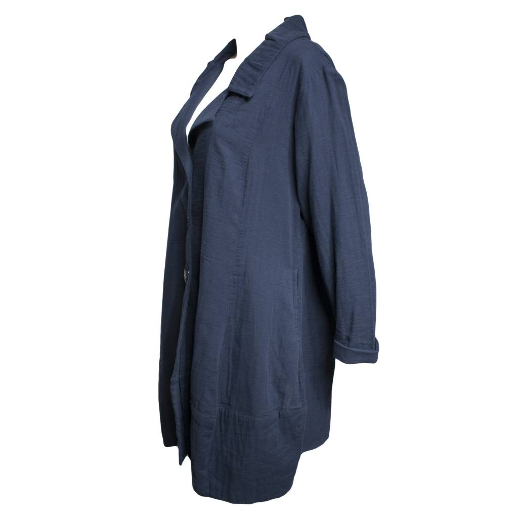 Dress To Kill Dress To Kill Ballon Coat - Navy