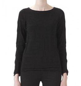 Babette Babette Origami Sweater - Black