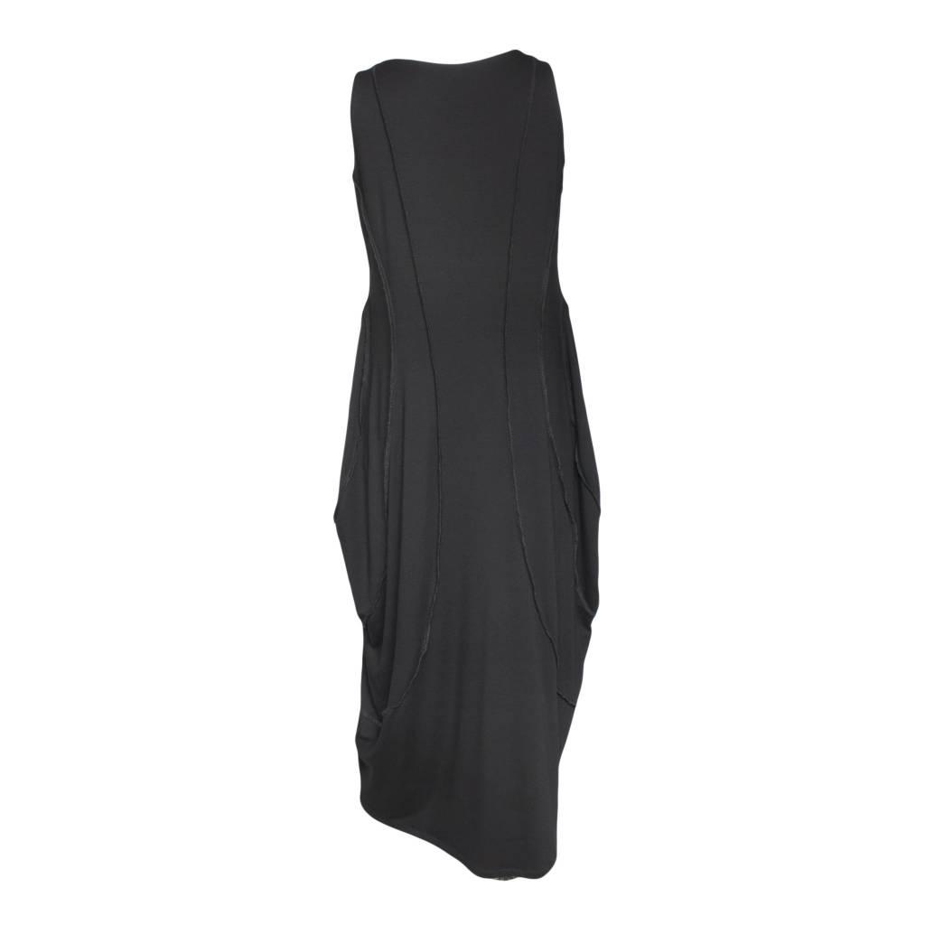Avivit Yizhar Avivit Yizhar Sleeveless Exposed Seam Dress - Black