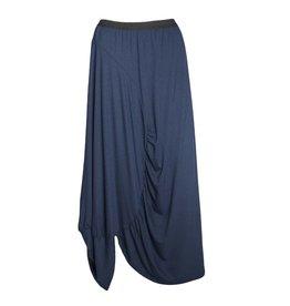 Avivit Yizhar Avivit Yizhar Angle Ruched Skirt - Blue Print